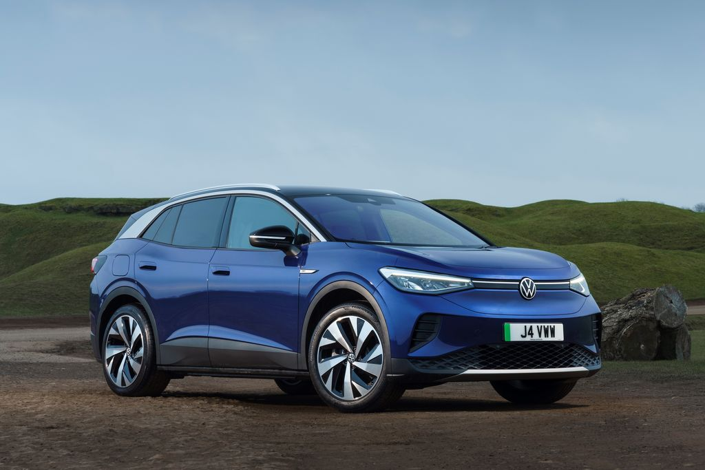 Volkswagen ID.4 Mobil Terbaik Dunia Tahun 2021