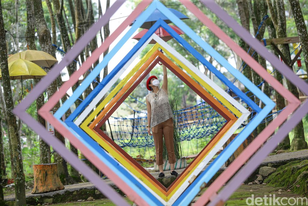 Agro wisata Kampoeng Karet di Karanganyar saat Road trip with Ionic Electric