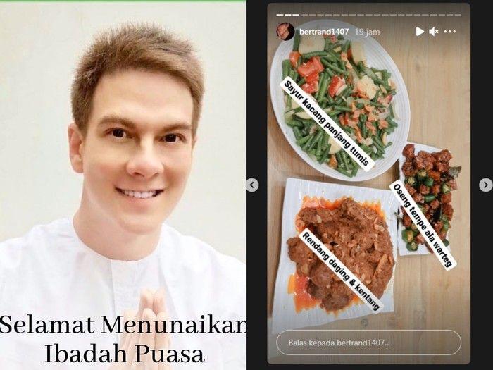 Bertoleransi, Amanda Manopo dan Sarwendah Ikut Siapkan Makanan Sahur dan Buka Puasa