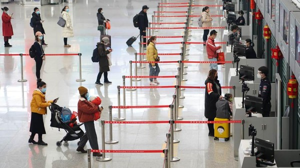 Urutan ke-10 ditempati Bandara Internasional Xian dengan 31,1 juta penumpang pada 2020. (Getty Images)
