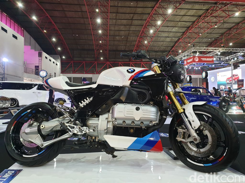 BMW K 1200 Dimodif Jadi Cafe Racer Mirip BMW R Nine T