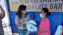 Srikandi BNI Kirim Bantuan ke Korban Kebakaran Tambora Jakbar