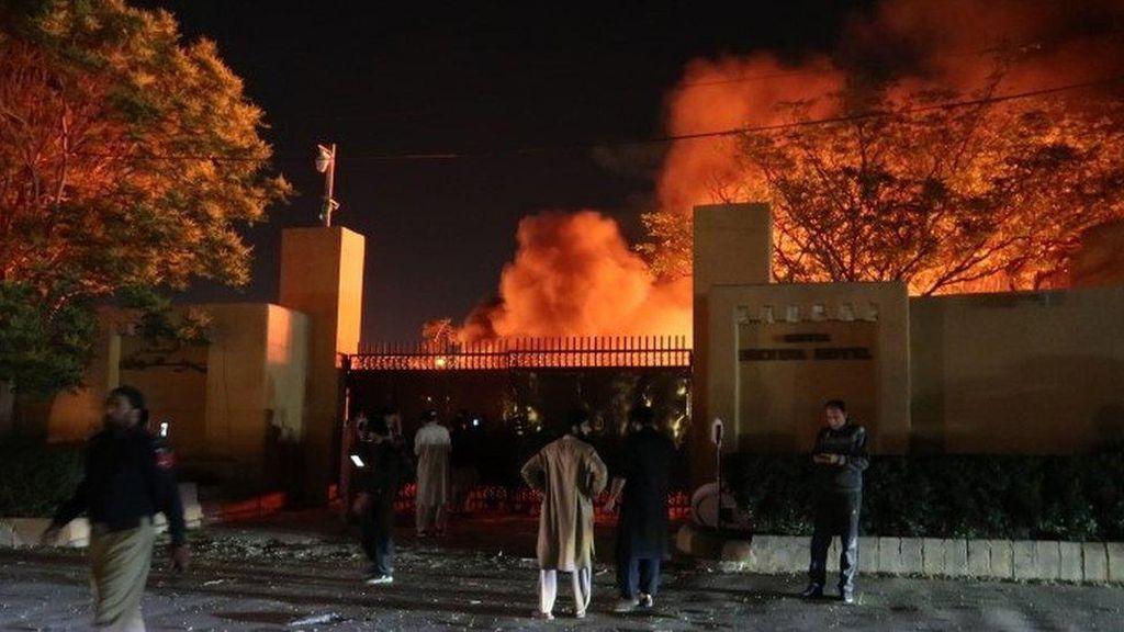 Taliban Klaim Dalangi Ledakan Bom di Hotel Tempat Menginap Dubes China