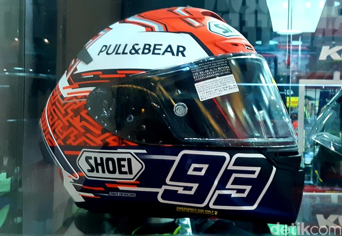 Helm Marc Marquez di IIMS 2021