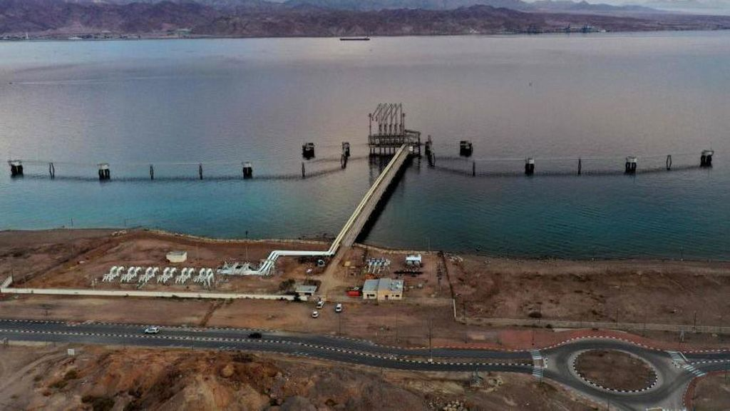 Rudal Suriah Meledak Dekat Reaktor Nuklir Israel