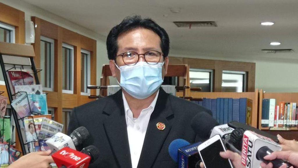 Jubir Ngaku Tak Bahas Reshuffle Kabinet Saat Dipanggil Jokowi