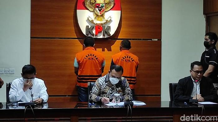 Jumpa pers KPK kasus korupsi Walkot Tangjungbalai