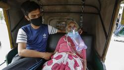 Berharganya Tabung Oksigen di India, Jadi Rebutan di Tengah Badai COVID-19
