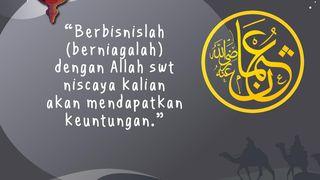 Utsman bin Affan: Berbisnislah dengan Allah SWT, Niscaya Akan Untung