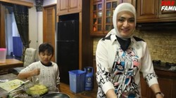Nathalie Holscher dan Anak-anak Sule Suka Banget Jajan Makanan Bareng
