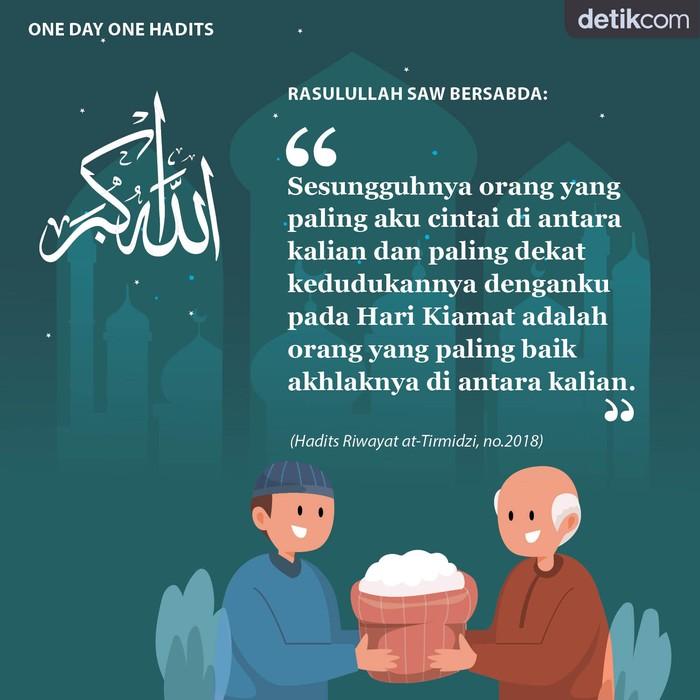 One day One Hadits orang yang paling dicintai Nabi