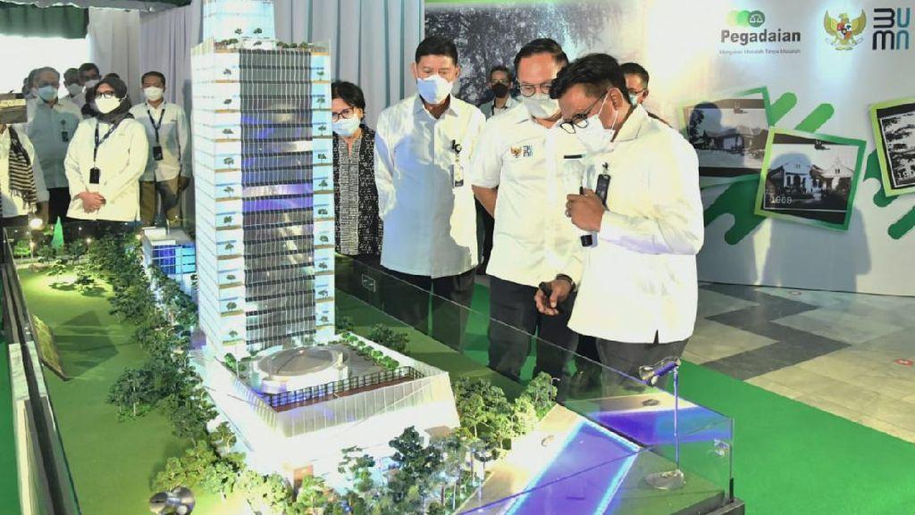 Pegadaian Bangun Tower Baru 22 Lantai, Ditargetkan Selesai 2023