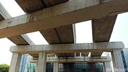 Penampakan Terkini LRT Cibubur-Cawang yang Siap Dilewati Ular Besi