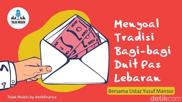 Podcast: Menyoal Tradisi Bagi-bagi Uang Pas Lebaran (Bersama Yusuf Mansur)