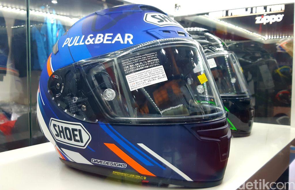 Replika Helm Alex Marquez di IIMS