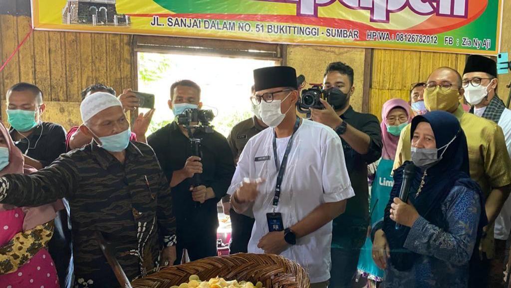 Saat Sandi Minta Andre Rosiade Borong Sanjai untuk Prabowo dan Dasco