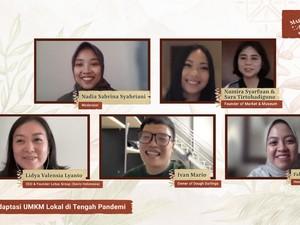 Tokopedia-Market & Museum Bantu Perempuan Pegiat UMKM Hadapi Pandemi