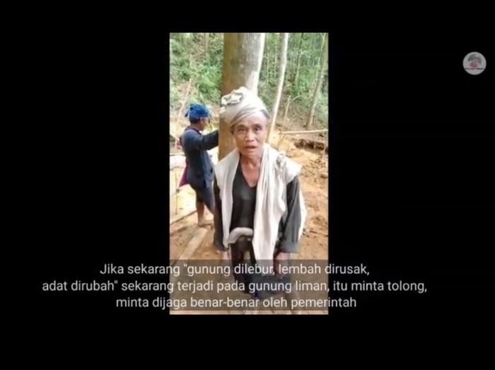Warga Baduy Banten