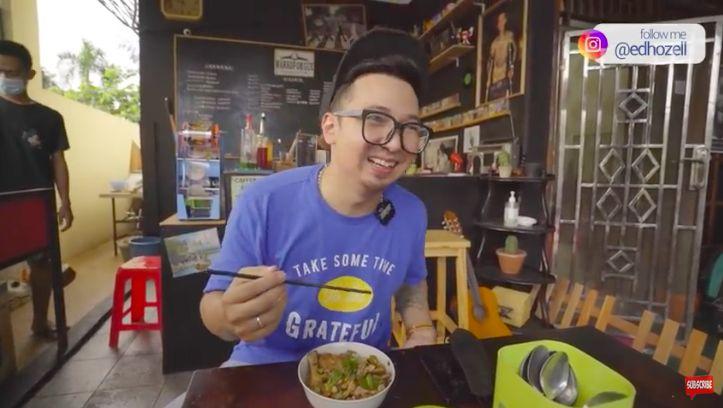 Aldi Taher Jualan Mie Ayam, Begini Penilaian YouTuber Kuliner Soal Rasanya