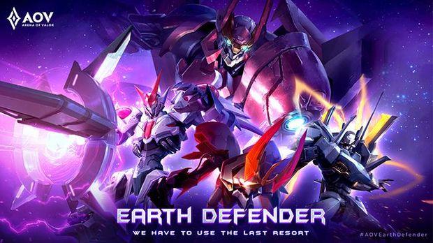 AOV Earth Defender: Lu Bu, Maloch, Tulen, dan Kriknak Bersatu untuk Melindungi Perdamaian Bumi