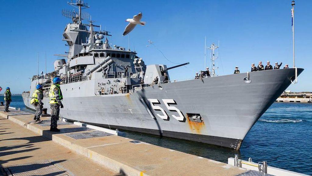 Australia Kirim 2 Kapal Perang untuk Bantu Upaya Pencarian KRI Nanggala-402