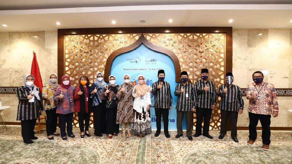 Sambut Ramadhan,BRIDonasi Rp 250 Juta untuk Masjid Istiqlal