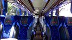 Foto-foto Bus Baru PO ANS, Berkelas Pakai Single Glass