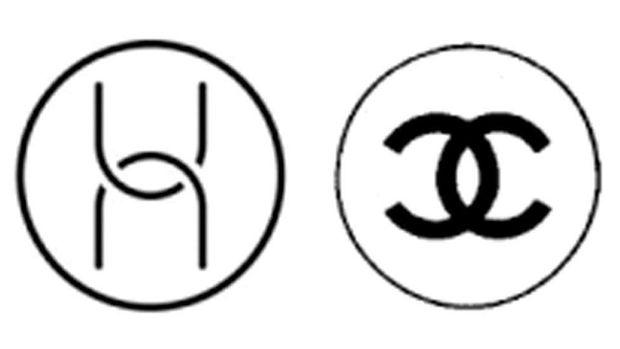 Logo Chanel vs Huawei.