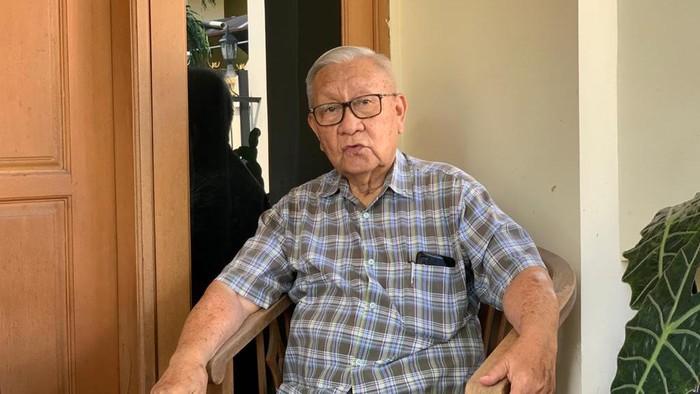 Laksamana Muda TNI (Purn) Frans Wuwung, mantan Kepala Kamar Mesin Kapal Selam Nanggala 402