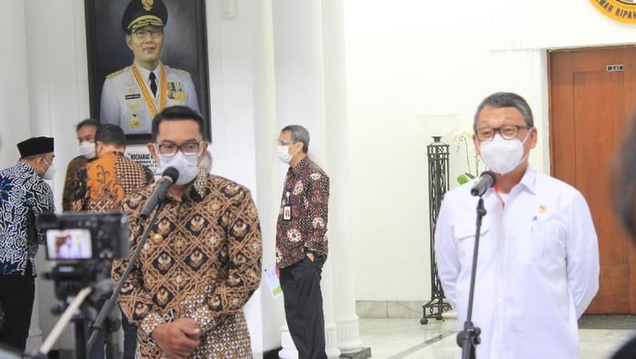 Gubernur Jawa Barat Ridwan Kamil bertemu Menteri ESDM Arifin Tasrif