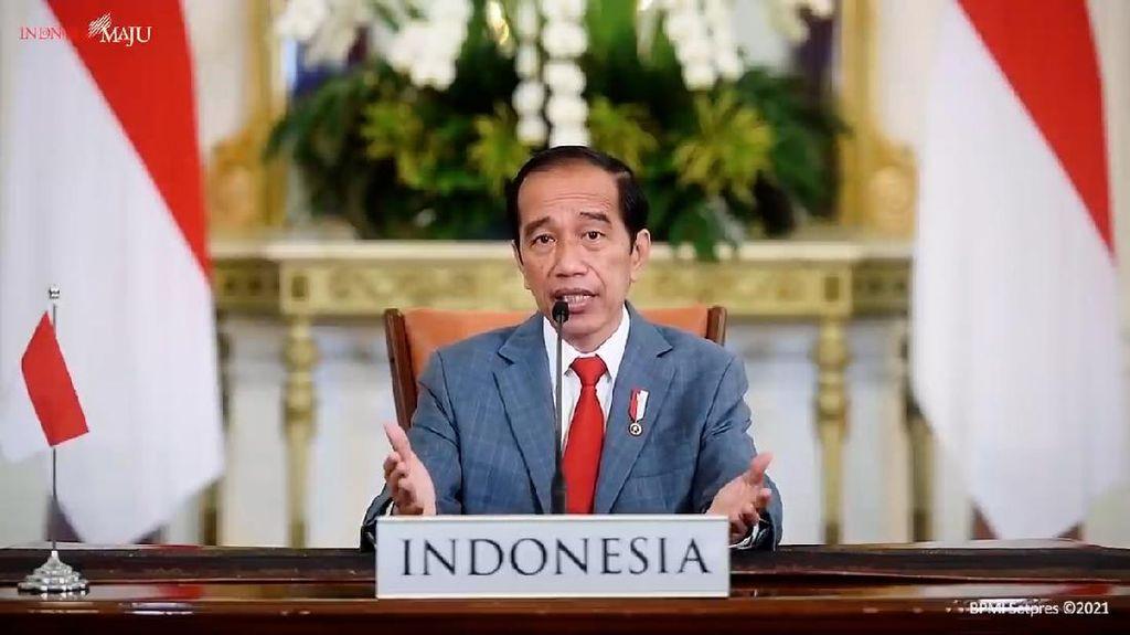 Hadiri KTT, Jokowi Pamer Kebakaran Hutan di RI Turun 82%