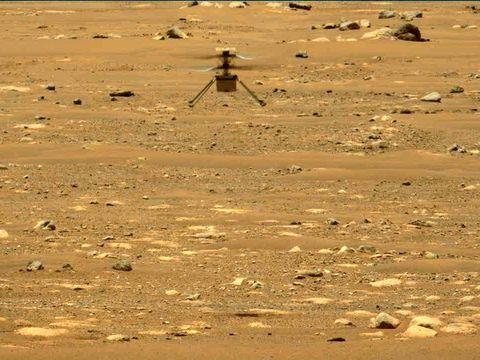 Helikopter Ingenuity terbang kedua kalinya ke Mars