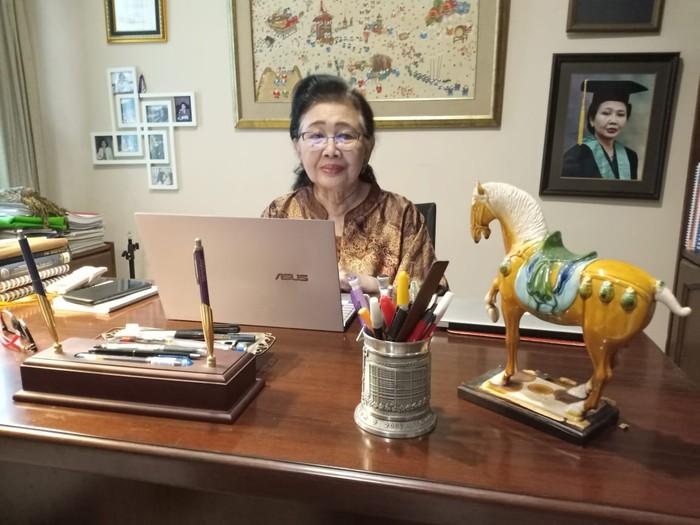 Ketua Indonesian Technical Advisory Group on Immunization (ITAGI) Sri Rezeki Hadinegoro