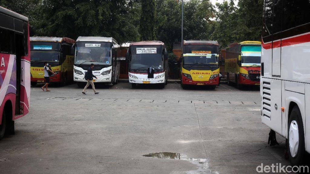 Larangan Mudik, 2 Terminal Bus di DKI Beroperasi untuk Kondisi Darurat