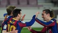 Top! Messi Bisa Hat-trick, tapi Penalti Dikasih ke Griezmann