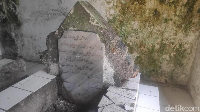 Makam kuno bukti penyebaran Islam pertama di Kota Makassar (Taufiq/detikcom).