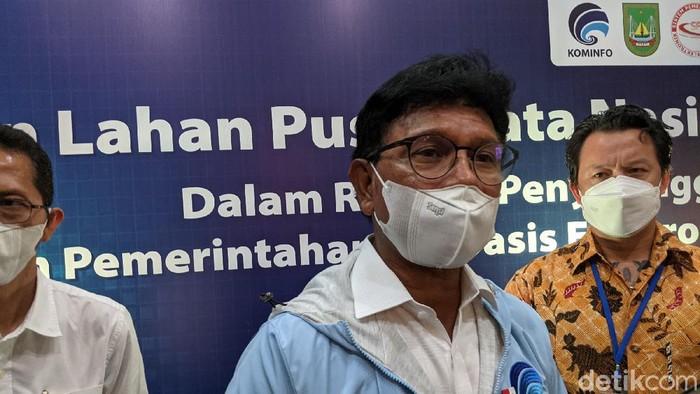 Menkominfo Johnny G Plate di Batam meresmikan Data Center Nasional