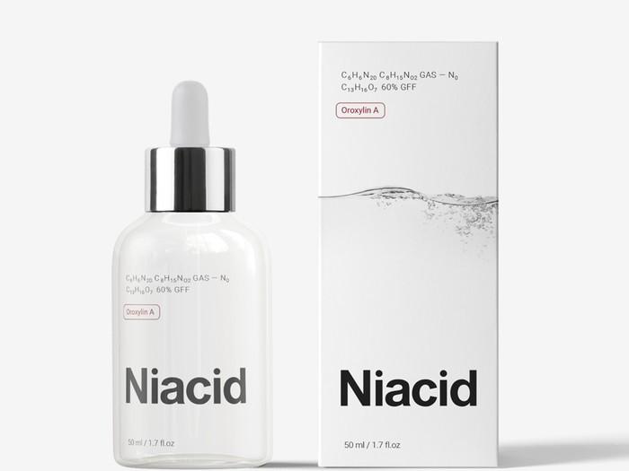 Niacid, solusi terbaik untuk permasalahan kulit wajah.
