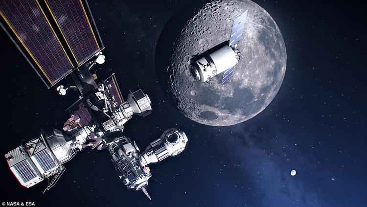 Pangkalan manusia di Bulan