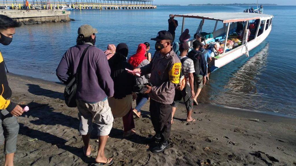 Polisi Perketat Prokes untuk Pengunjung Gili Trawangan