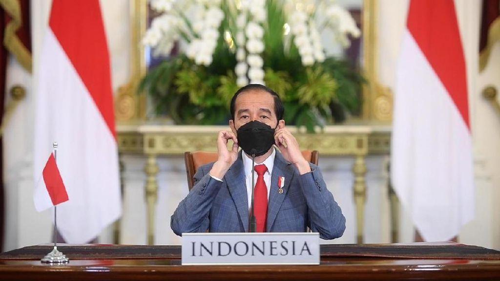 Jokowi Ajak Warga Selalu Pakai Masker ke Mana Pun