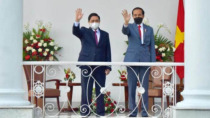 Presiden Jokowi dan PM Vietnam (Foto: Biro Pers - Agus Suparto)