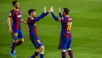 Barcelona Vs Getafe: Messi Gemilang, El Barca Menang 5-2