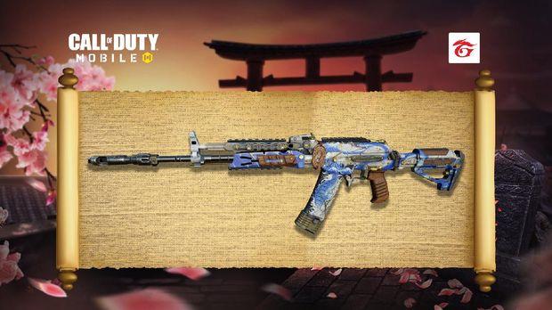 Tampilan Skin dan Senjata Terbaru di CODM Dengan Nuansa Klasik Samurai