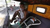 Bantu RS Tangani COVID-19, Pria Ini Sulap Bajaj Miliknya Jadi Ambulans