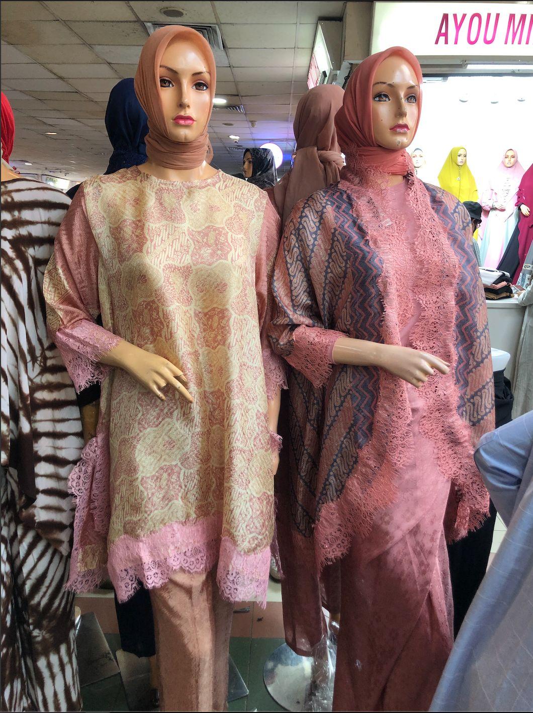Tren baju Lebaran 2021 model batik.
