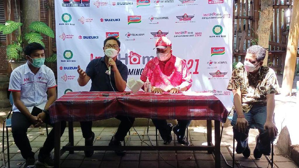 Denpasar Gaming League 2021 Digelar, 184 Tim Ikut Serta
