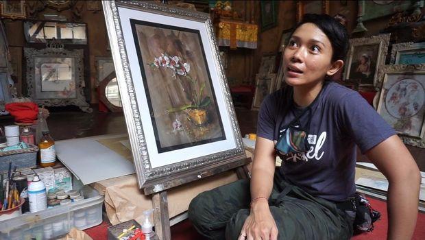 Eleonora Ajisela Agrippina (Jisel) tiba di Bali dalam rangkaian rangkaian Touring Jakarta-Bali