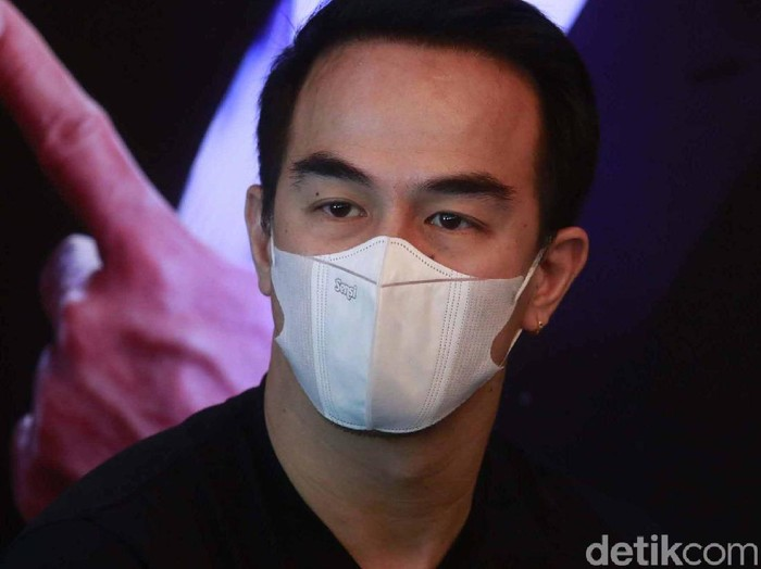 Joe Taslim saat ditemui di acara nonotn bareng Mortal Combat di XXI Metropole, Jakarta Pusat, Jumat (23/04/2021)