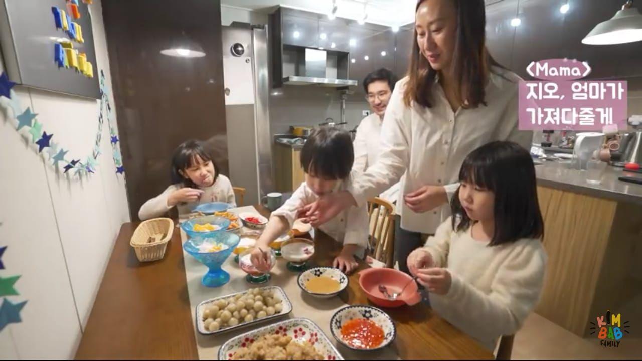 Meriah! Kimbab Family Masak 7 Takjil untuk Buka Puasa di Korea